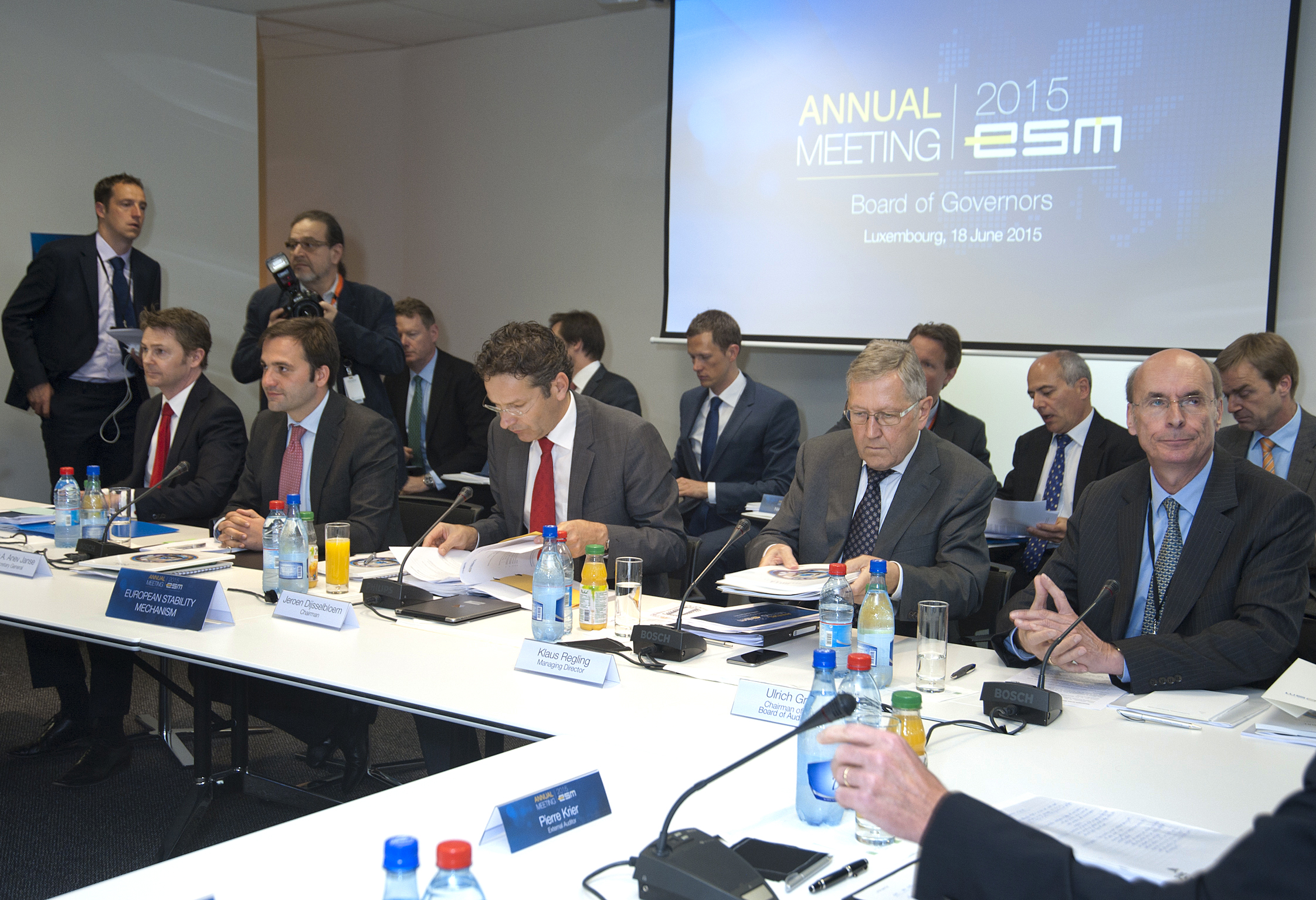 ESM Annual Meeting of the Board of Governors